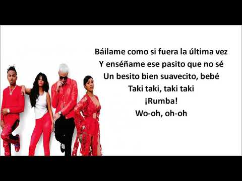 Taki Taki – LYRICS DJ Snake feat Selena Gomez, Ozuna & Cardi B – LETRA