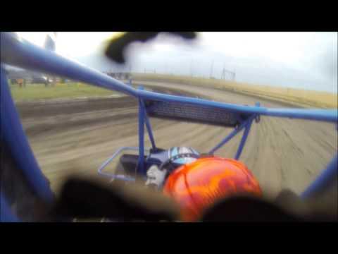 Creek County Speedway Heat Race 7/18/14