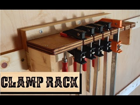 DIY Clamp Rack feat: French Cleat