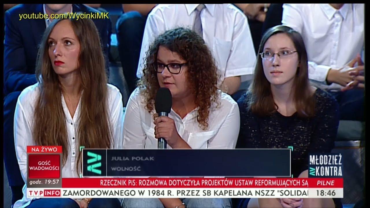 Młodzież kontra 608: Julia Polakowska (Wolność) vs Bogdan Kasprowicz i Kajetan Rajski 09.09.2017