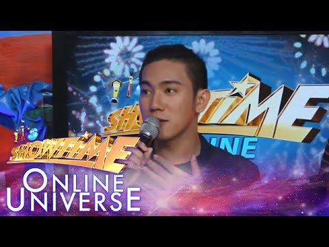 Showtime Online Universe: John Michael dela Cerna is an entrepreneurship student