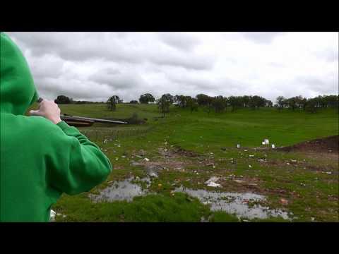 winchester 67, 22 cal matthew target shooting.