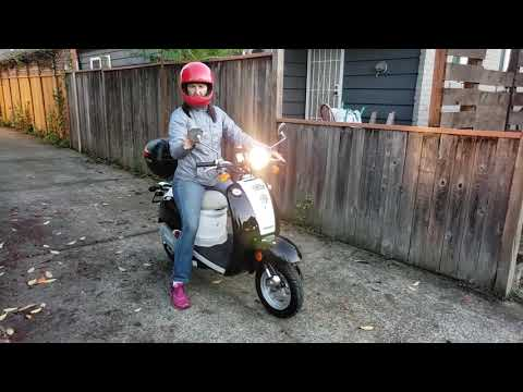 The Tesla Scooter  (Teslooter) EVT 168 Scooter has been gifted