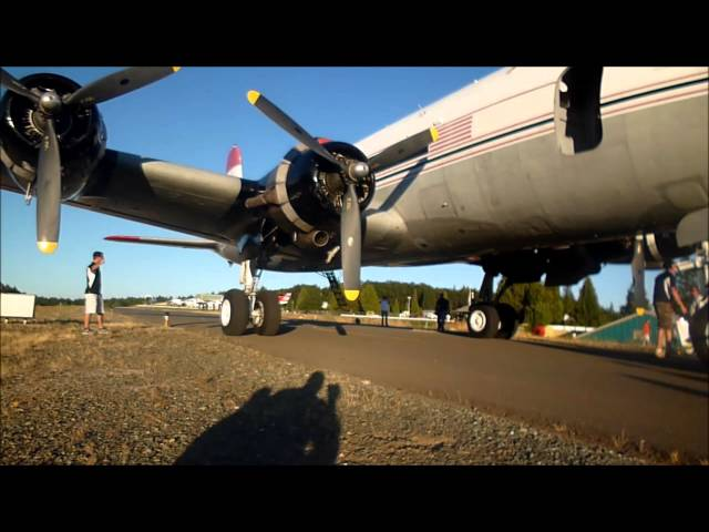 C54 ARRIVAL NEVADA COUNTY AIRFEST 2013