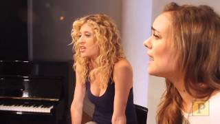 "Caissie Levy and Taylor Noble Perform ""Give Words of Love"""