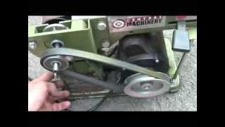 Harbor Freight 4 X 36 Belt Sander Mod For Knife Grinding