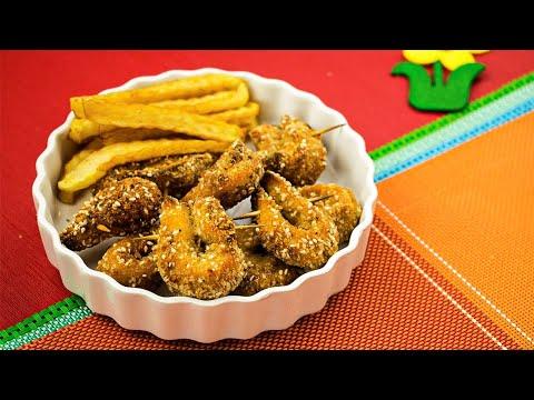 Sesame Chicken Tenders Recipe For Kids By SooperChef