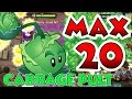 Plants Vs Zombies 2 Max Level Up - Cabbage Pult @ Level 20 Maximum Level