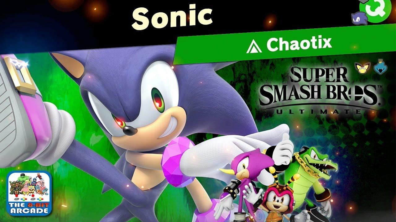 Super Smash Bros Ultimate World Of Light Facing Evil Sonic