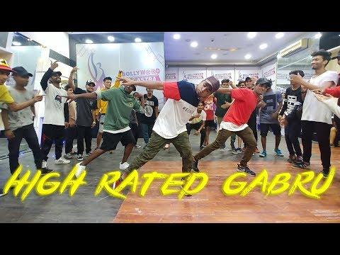 Download Lagu  Nawabzaade: High Rated Gabru   Varun Dhawan   Guru Randhawa   Kartik Raja Choreography   Dance  Mp3 Free