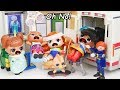 Ambulance Hospital at Barbie Skateboard Ramp - #Hairgoals Makeover Series 5 LOL Surprise Dolls