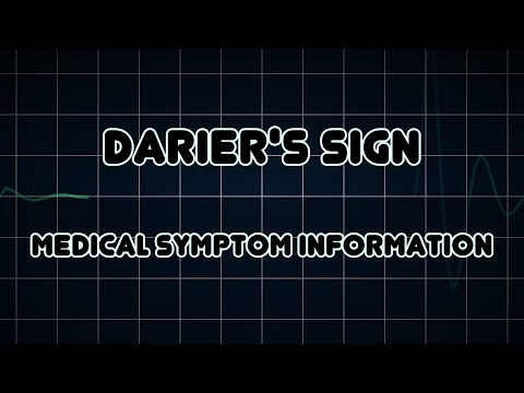Darier's sign (Medical Symptom)
