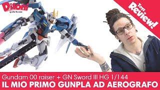 Gundam Raiser 00 HG • e la mia prima esperienza con aerografo
