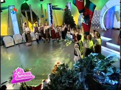 Boboceii din Bacau Colaj cantece pentru copii Sa v amintiti duminica National TV 08 12 2013