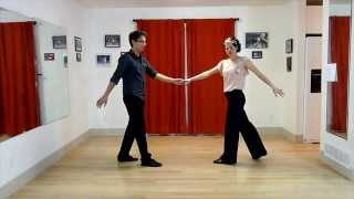 Learn to Swing Dance | Level 5 Lesson 9 (Front-Step Stretch) | Lindy Ladder