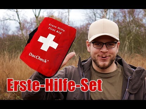 erste hilfe set notfall kit ausr stung bushcraft. Black Bedroom Furniture Sets. Home Design Ideas