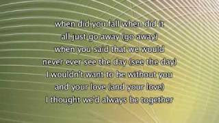 Keyshia Cole - Give Me More, Lyrics In Video