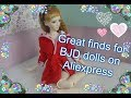 Cool finds for BJD dolls SD and MSD scale from Aliexpress