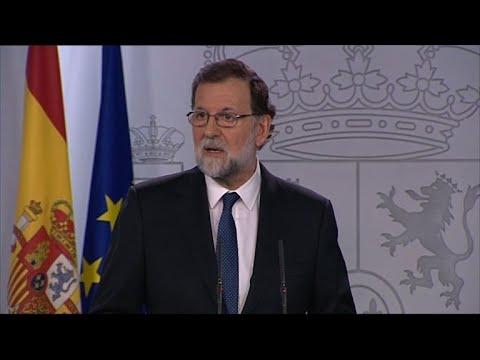 Madri pretende destituir governo catalão