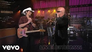 Brad Paisley - Catch All The Fish (Live on Letterman) ft. Paul Shaffer