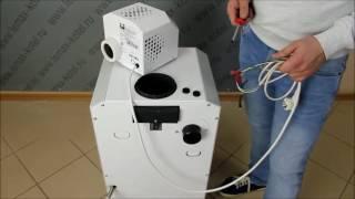 Подключение турбонасадки к котлу «Премиум» N