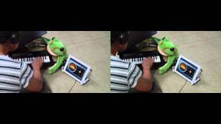 Cyatumi Japanese school music on elementary school. Kawai Toy Piano...