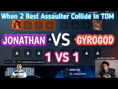 JONATHAN VS GYROGOD   1 Vs 1 Intense Friendly TDM Fight