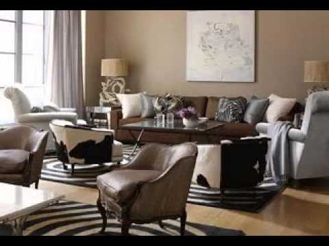 Safari Living Room Decorating Ideas - YouTube
