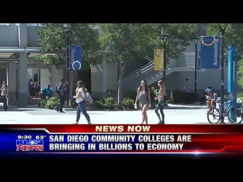 KUSI-SD: San Diego Community Colleges Bringing Billions to Economy
