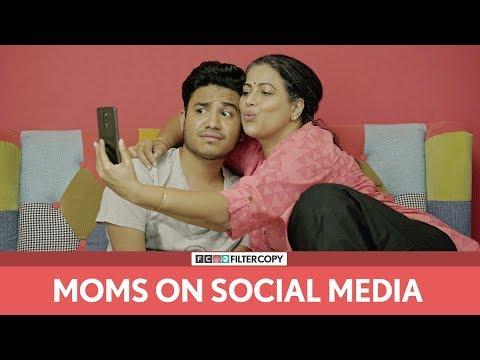 FilterCopy Moms On Social Media Ft Aniruddha Banerjee and Mona Ambegaonkar