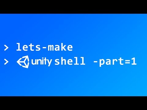 Custom Text Input - Lets Make Unity Shell - Part 1