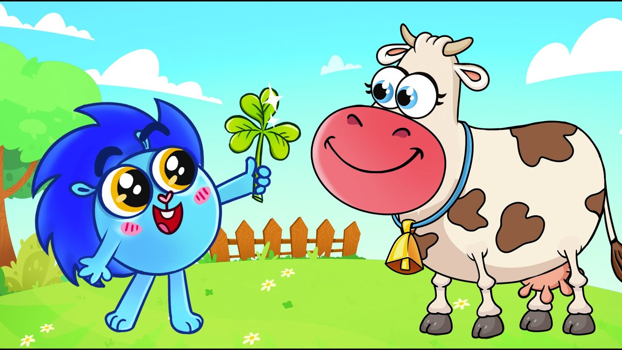 😻 The Animals On The Farm Song 🐄 🐖 🐓   Nursery Rhymes and Kids Songs by Baby Zoo 😻🐨🐰🦁🐵