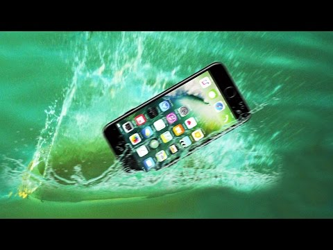 Ultimate iPhone 7 Water Proof Test! Water Skipping the iPhone 7!