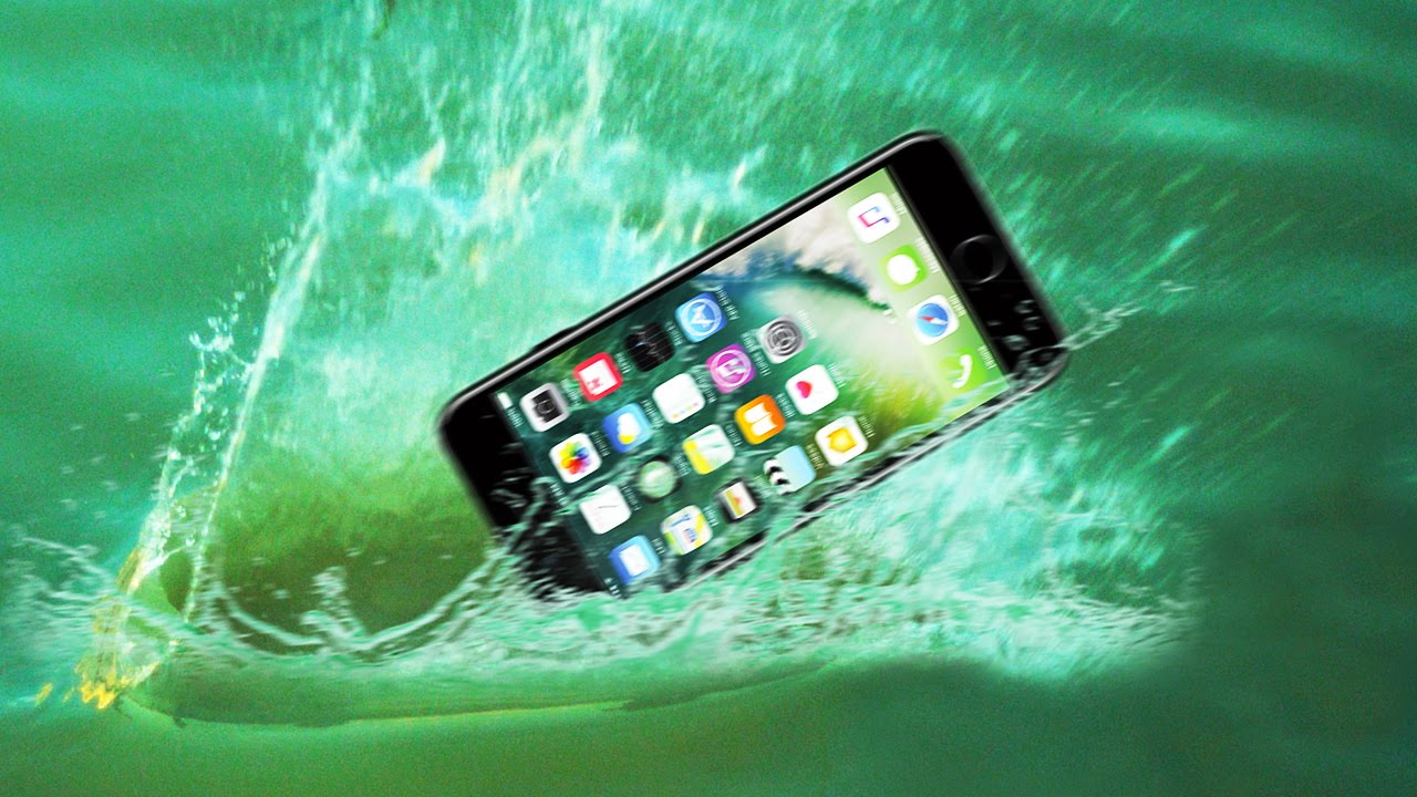low priced 286f4 7bd16 Ultimate iPhone 7 Water Proof Test! Water Skipping the iPhone 7!