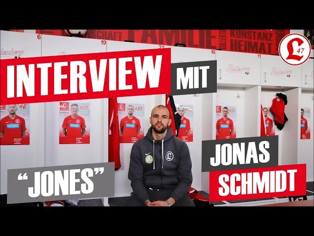 Regionalligateam: Interview mit Jonas Schmidt