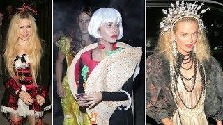 Avril Lavigne, Sarah Hyland, Jaime King, Ariel Winter And More Star Celebrate Halloween!