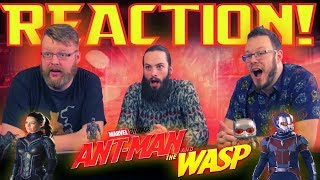 Marvel Studios' Ant-Man and the Wasp - Official Trailer REACTION!!