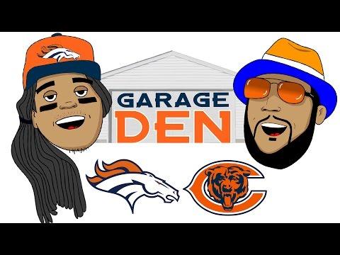 Garage Den (Broncos Bears edition)