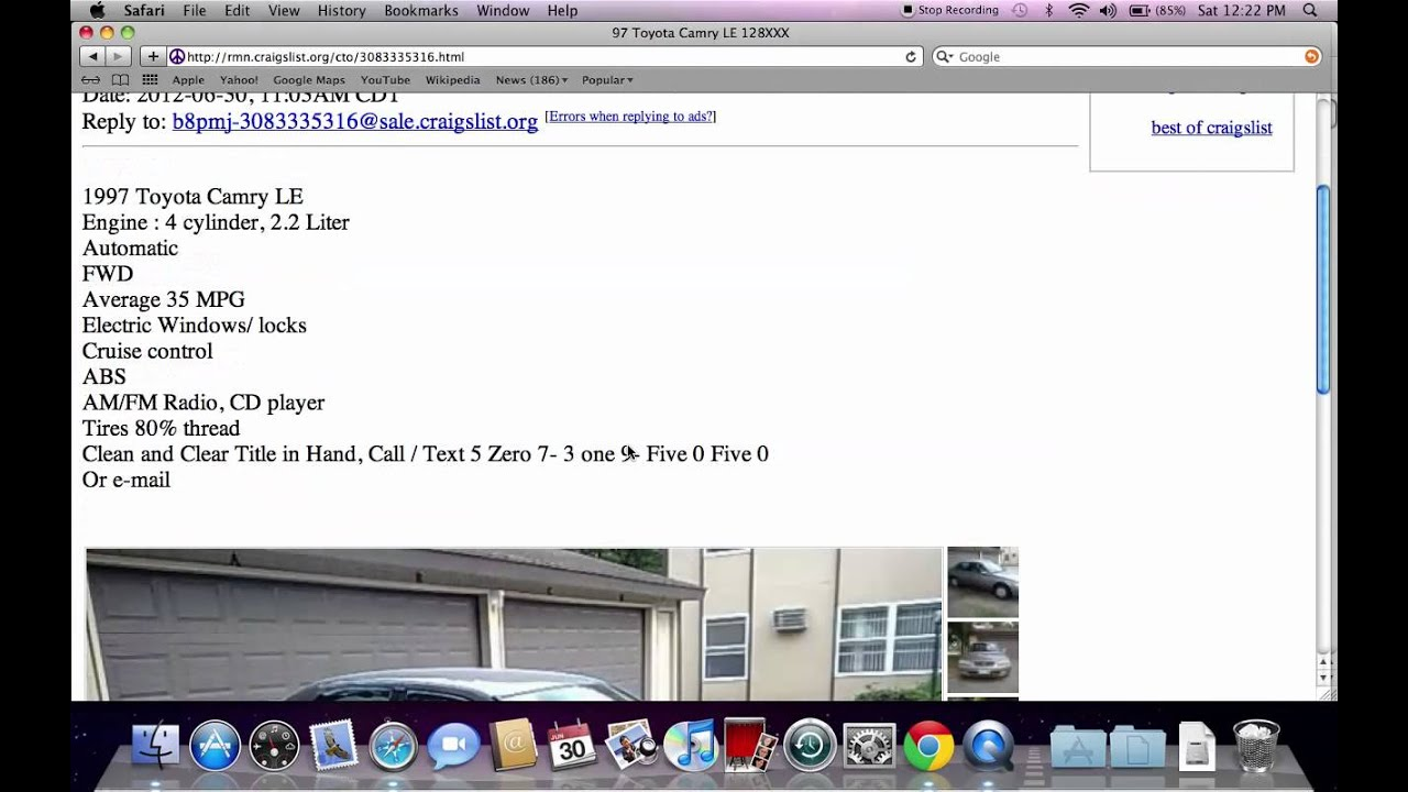 Craigslist Rochester MN Used Cars - Affordable and Cheap For Sale by Owner Options - YouTube
