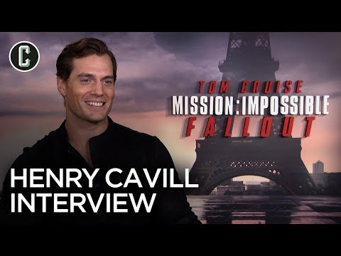 """Henry Cavill Talks Mission: Impossible – Fallout, Tom Cruise and Plays """"Ice Breakers"""""""