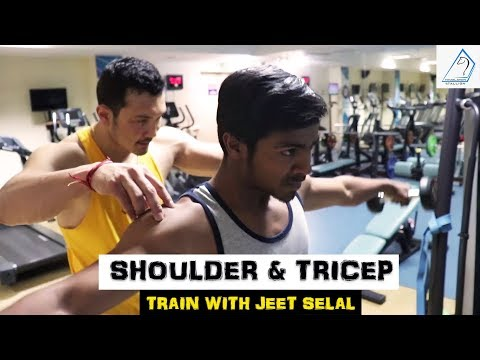 SHOULDER & TRICEP - Train with JEET SELAL  Free Personal Training Session 
