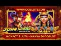 QQSLOT - PRAGMATIC - JOHN HUNTER - PLAYER JACKPOT QQSLOT 3 JUTA CASH