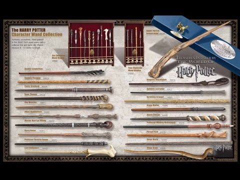 Волшебные палочки персонажей Гарри Поттера