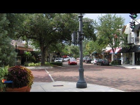 Park Avenue Winter Park Florida Youtube