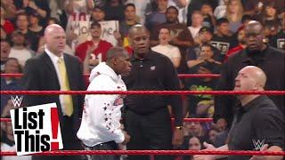 7 Superestrellas que se rompieron la cara en el ring: WWE List This!
