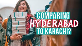 FOREIGN Girl's 1st Visit To HYDERABAD