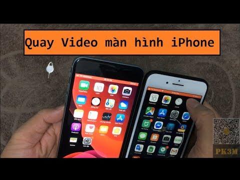 Cách quay video màn hình iphone iOS 13 (How to enable screen recording iphone ios 13)