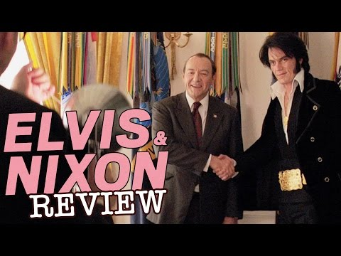 ​Kevin Spacey Michael Shannon in ​Elvis and Nixon - F​i​lm Review