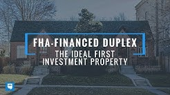 FHA-Financed Duplex is the IDEAL First Investment Property (House Hacking)