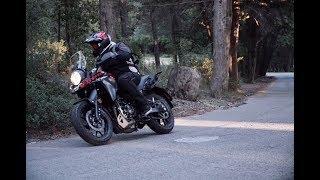 Suzuki V Strom 250  Test ride ( English Subtitles)